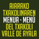 menu txakoli