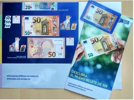 JORNADA INFORMATIVA PRESENTACIÓN NUEVO BILLETE DE 50€