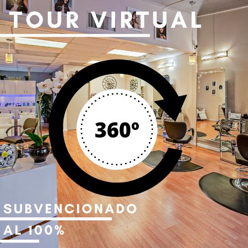 TOUR VIRTUAL 360º PARA EL SECTOR DE LA IMAGEN PERSONAL
