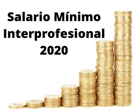 Real Decreto 231/2020, de 4 de febrero, por el que se fija el salario mínimo interprofesional para 2020