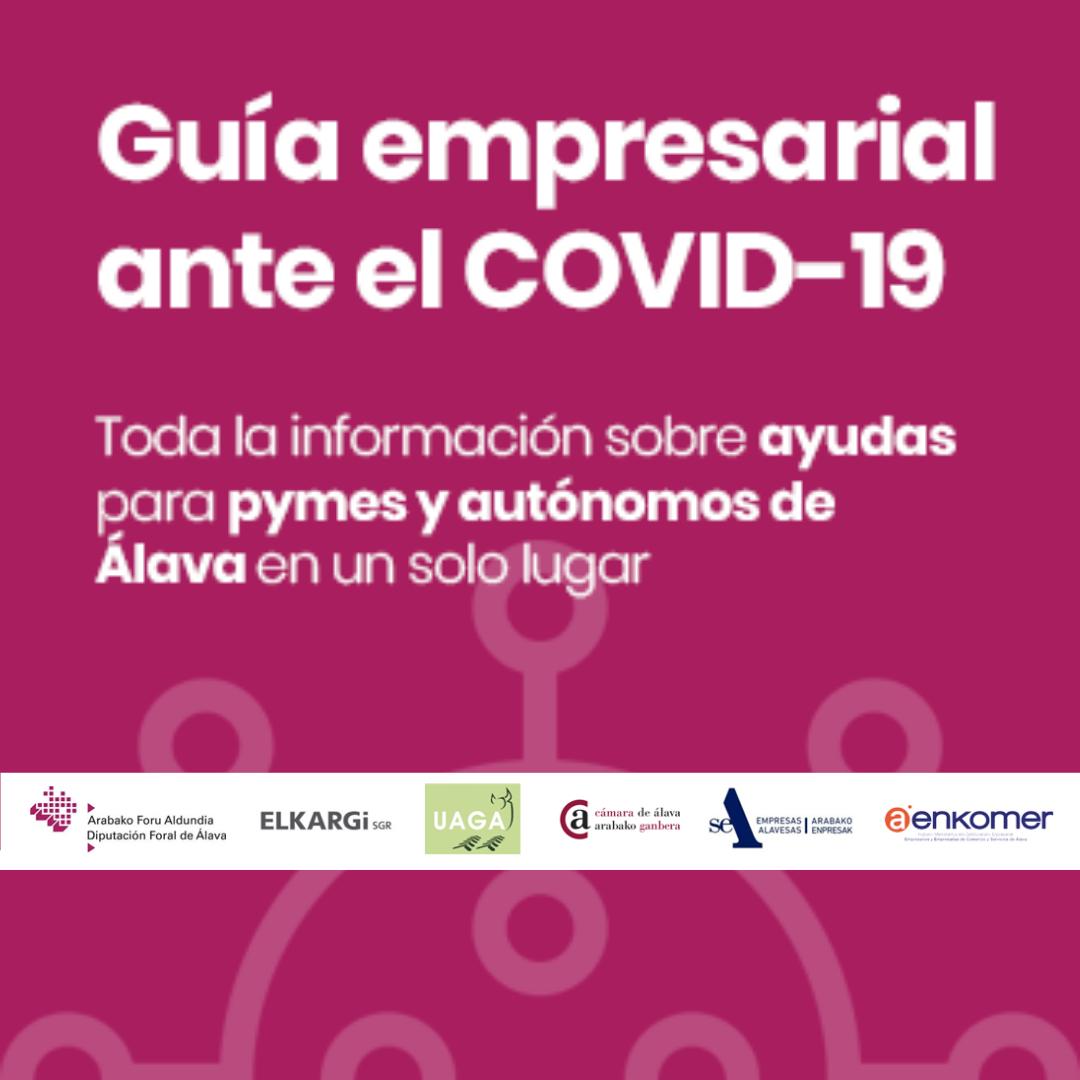 GUÍA DE AYUDA PARA PYMES Y AUTÓNOMOS DE ÁLAVA ANTE EL COVID-19