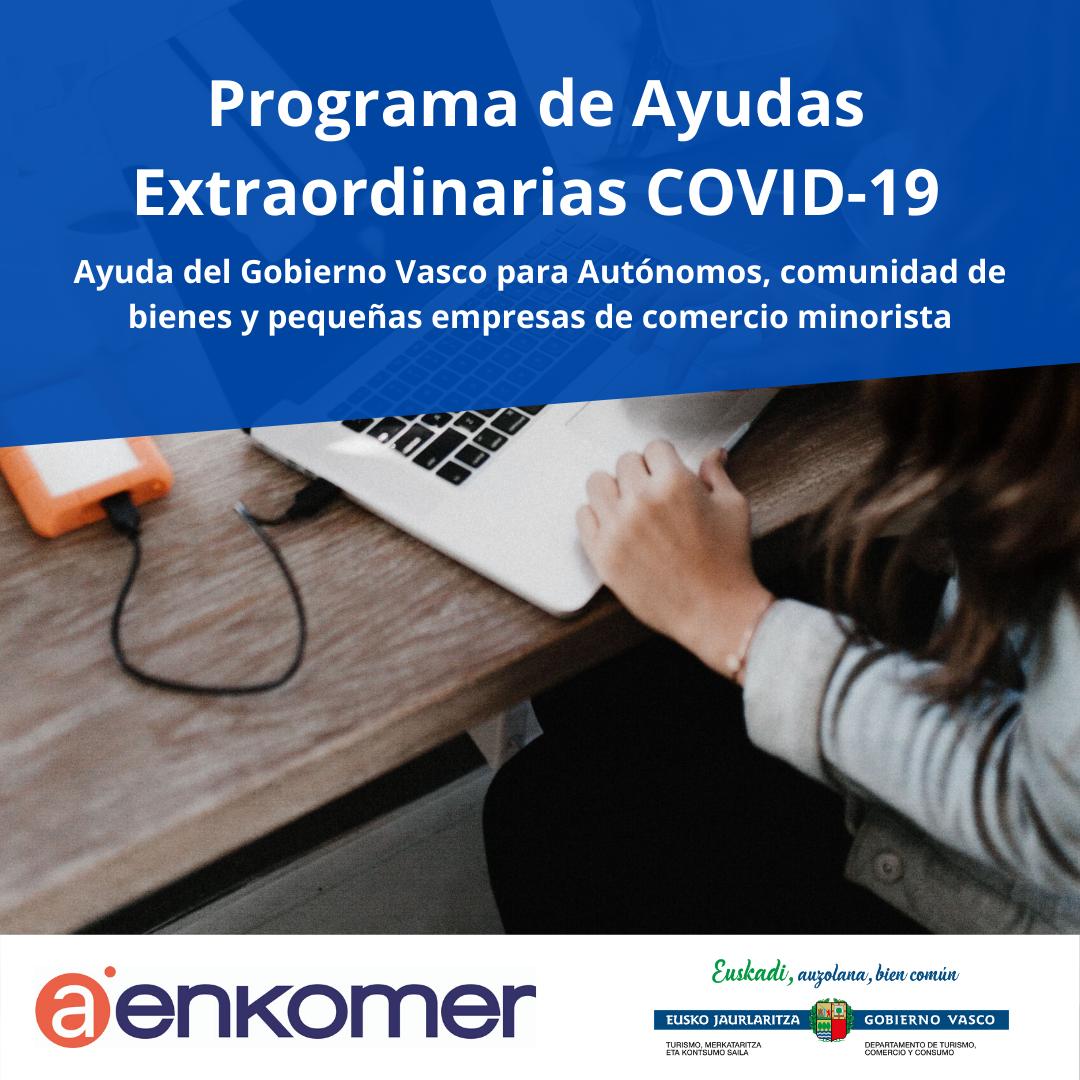 AYUDAS COVID-19 DEL GOBIERNO VASCO PARA AUTÓNOMOS, PEQUEÑAS EMPRESAS Y COMUNIDAD DE BIENES