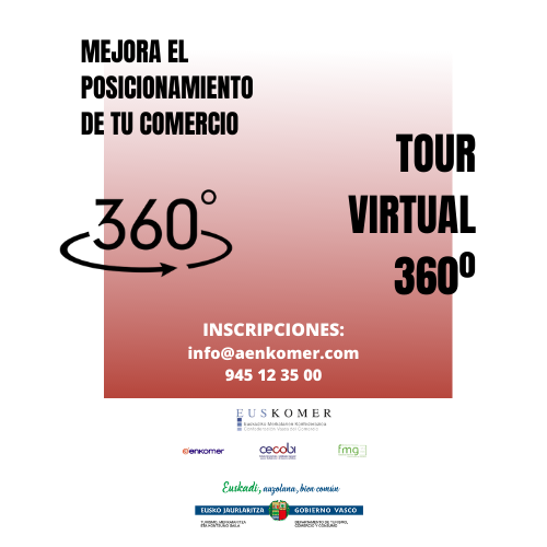 TOUR VIRTUAL 360º PARA EL SECTOR COMERCIAL ALAVÉS